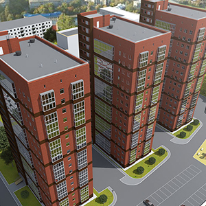New buildings Perm 2017-2019 from the developer