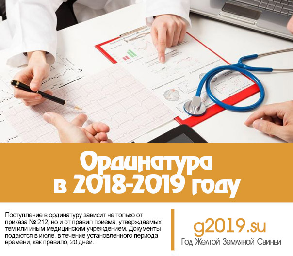 Residency in the 2018-2019 year