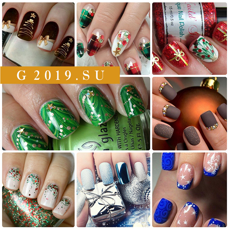 Nail design for the New Year 2019. Photos, news