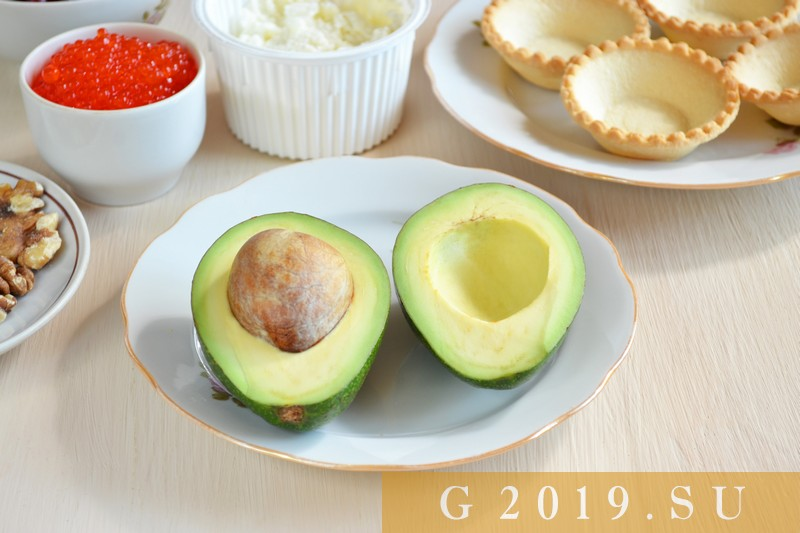 Tartlets for the New Year 2019